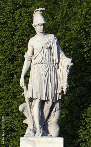 Garden detail, Schonbrunn palace, Vienna