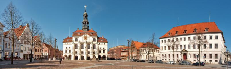 Rathauspanorama in Lüneburg