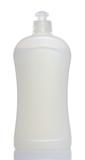 white bottle of dishwashing liquid poster