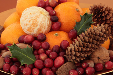 Christmas Fruit and Nuts