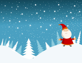 vector background card for christmas