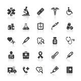 Black Web Icons - Medicine & Health