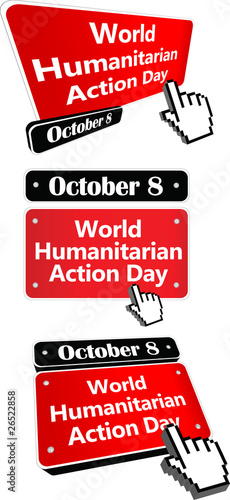 october 8 - world humanitarian action day
