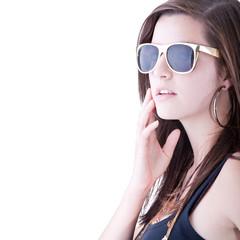 Young stylish trendy teenager