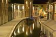 Comacchio, notturna sul canale