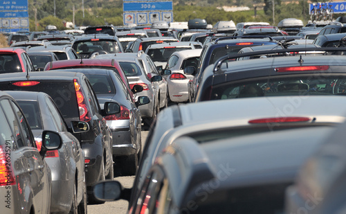 Traffic jam hot spot