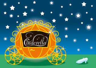 Cinderella, carrozza e scarpetta