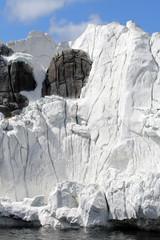 Antarctic ice shelf ..