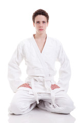 judoist karate man
