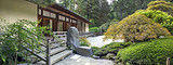 Pavilion at Japanese Garden Panorama