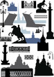 Saint-Petersburg silhouettes collection