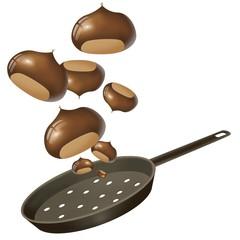 castagne arrosto