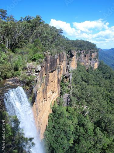 Papiers peints Canyon Fitzroy falls