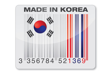 icone Made In Korea - traçabilité