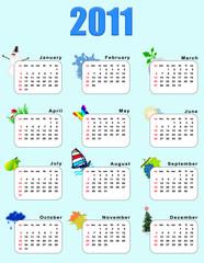 Calendar_vertical 2011  - seasons