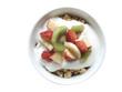 Früchte-Müsli von oben