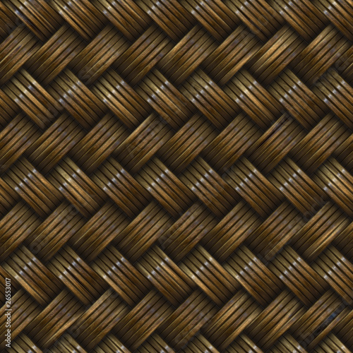 Twill Basket Weave Seamless Texture Tile