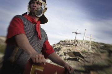 Roman Guard At Golgotha
