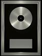 Platin-Schallplatte