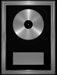 Silber-Schallplatte