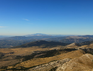 View from Dinara- highest mountain in Croatia