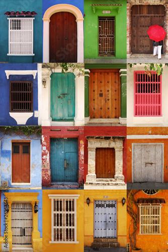 Portes de Carthagène, Colombie