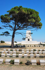 Lone Pine Memorial at the Gallipoli Battlefields in Turkey.