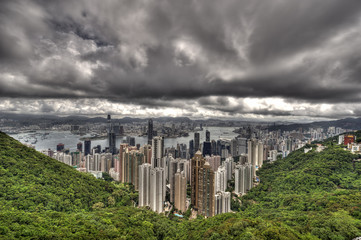 Hong Kongs Skyline