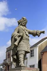 statue à Concarneau