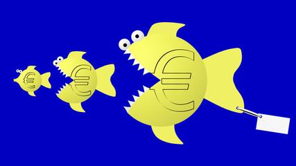 Fish eat fish: euro eat euro