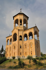 Tbilisi Sameba Cathedral - freely-standing bell-tower
