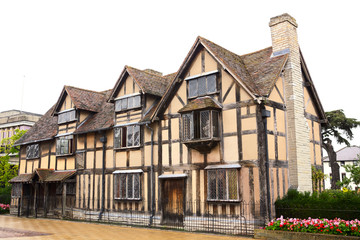 William Shakespeare's House, Stratford upon Avon, England