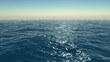 Flying over Ocean
