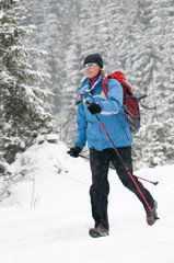 Winter Nordic Walking