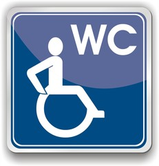 bouton handicap wc