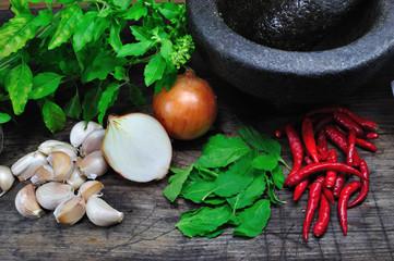 Pad Kaprao Herbal Ingredient
