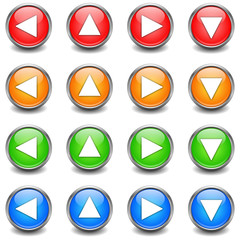Pfeil Buttons