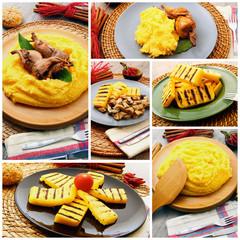 polenta collage