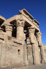 ancient Kom Ombo temple near Aswan, Egypt