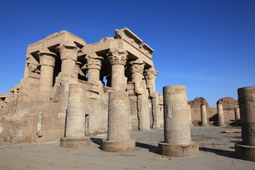 ancient Kom Ombo temple near Aswan, Egypt