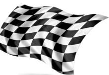 start - finish flag