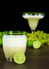 Pisco Sour, a Peruvian cocktail