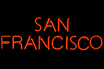 San Francisco neon sign
