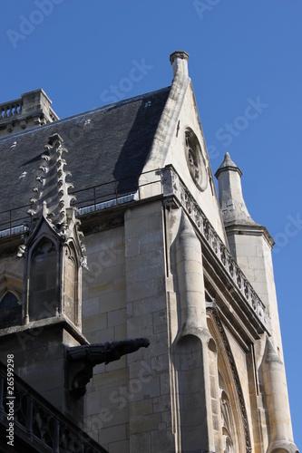 Poster Paris01-Église-Saint-Germain-l'Auxerrois