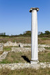 Постер, плакат: Temple of Dionysus ruins found at Dion in Greece