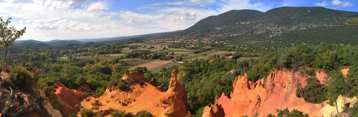 Luberon - panorama Colorado
