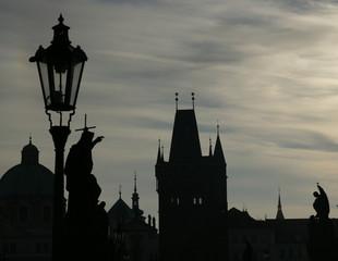 Karlsbrücke am Morgen