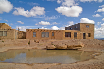 Water hole in Acoma Pueblo, New Mexico