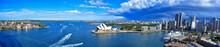 "Постер, картина, фотообои ""Panorama of Sydney Harbor. Sydney, Australia"""