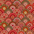roleta: Seamless oriental pattern